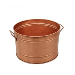 galvanized farmhouse style copper tub